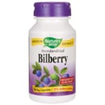 Nature's Way Standardized Bilberry Extract