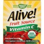 Nature's Way Alive! Fruit Source Vitamin C