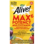 Nature's Way Alive! Max6 Daily Multi-Vitamin