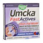 Nature's Way Umcka Cold+Flu FastActives - Berry