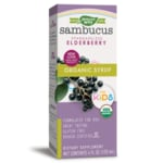 Nature's Way Organic Sambucus for Kids Elderberry