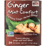 NOW FoodsQueeze Ease Tea Ginger Digestive Herbal Blend