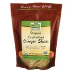 NOW Foods Crystallized Ginger Slices