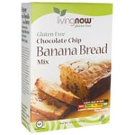 NOW Foods Living Now Chocolate Chip Banana Bread Mix