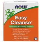 NOW Foods Easy Cleanse AM/PM