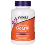 NOW Foods CoQ10 masticable