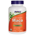 NOW Foods Maca Pure Powder Certified Organic