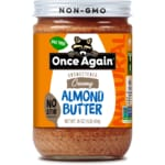 Once AgainNatural American Classic Creamy Almond Butter