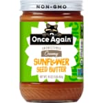 Once Again Organic Sunflower Seed Butter Sugar & Salt Free