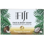 Organic Fiji Organic Pineapple Coconut Soap Bar