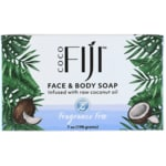 Organic FijiFace and Body Coconut Oil Soap