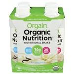 OrgainOrganic Nutritional Shake Sweet Vanilla Bean