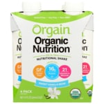Orgain Organic Nutritional Shake Sweet Vanilla Bean