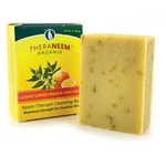 Organix South TheraNeem Neem Therape Cleansing Bar Orange & Ylang Ylang