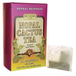 Only Natural Nopal Cactus Tea No Caffeine - Natural Mint Flavor