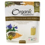 Organic TraditionsOrganic Sprouted Chia & Flax Seed Powder