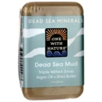 One With NatureDead Sea Minerals Triple Milled Bar Soap - Dead Sea Mud