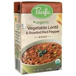 Pacific Natural FoodsOrganic Vegetable Lentil & Roasted Red Pepper Soup