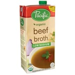 Pacific Natural Foods Organic Beef Broth - Low Sodium