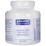 Pure Encapsulations Nutrient 950 with Vitamin K