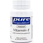 Pure EncapsulationsNatural Vitamin E (with mixed tocopherols)