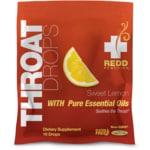 Redd Remedies Throat Drops - Sweet Lemon