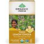 Organic IndiaLemon Ginger Tulsi Tea