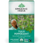 Organic India Peppermint Tulsi Tea