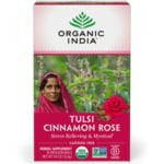 Organic India Tulsi Cinnamon Rose Tea