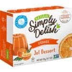 Simply DelishOrange Jel Dessert
