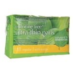 Seventh Generation Chlorine Free Ultra-Thin Pads with Wings - Regular