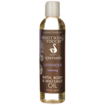 Soothing Touch Bath, Body and Massage Oil - Lavender
