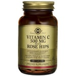 Solgar Vitamin C 500 mg with Rose Hips
