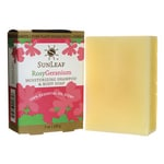 Sunleaf NaturalsMoisturizing Shampoo and Body Soap - Rosy Geranium