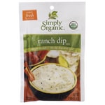 Simply Organic Ranch Dip Mix