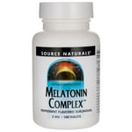 Source Naturals Melatonin Complex - Peppermint Flavored Sublingual