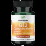 Swanson PremiumVitamin B-12 (Cyanocobalamin)
