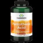 Swanson Premium Pantothenic Acid (Vitamin B-5)