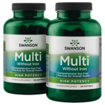 Swanson Premium High Potency Softgel Multivitamin Iron Free