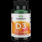 Swanson Premium Vitamin D-3