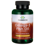 Swanson Premium Lemon Flavor Omega-3 Fish Oil & Vitamin D