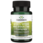 Swanson Premium Green, White & Black Tea Complex