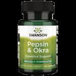 Swanson Premium Okra Pepsin
