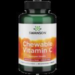 Swanson PremiumSugar-Free Chewable Vitamin C Cherry
