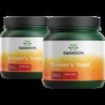 Swanson Premium100% Pure Brewer's Yeast Powder GMO-Free