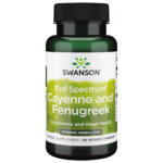 Swanson Premium Full Spectrum Cayenne & Fenugreek