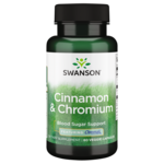 Swanson Premium Cinnamon & Chromium with Chromax