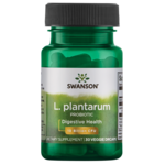Swanson Probiotics Refuerzo interior para intestinos de L. plantarum
