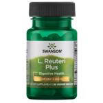 Swanson Probiotics L. Reuteri Plus with L. Rhamnosus, L. Acidophilus & FOS