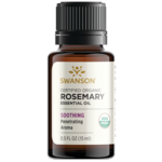 Swanson Aromatherapy Certified Organic Rosemary Essential Oil